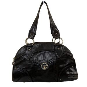 Marc by Marc Jacobs Dark Brown Dome Shoulder Bag